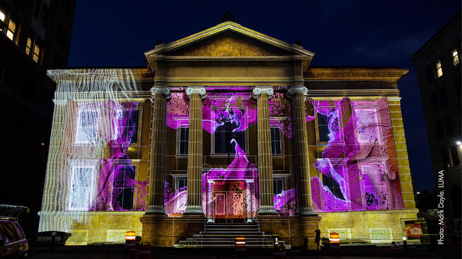 LUMA Projection Arts Festival