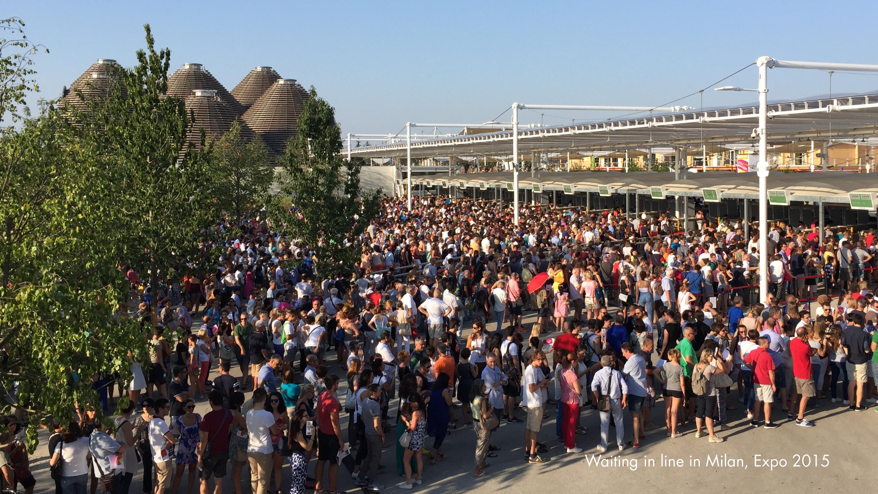 world expo queue