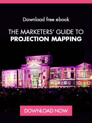 E-book | Projection mapping guide | Side banner
